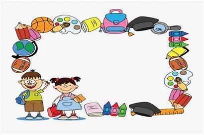 Border Certificate Kindergarten Clipart Transparent Clipartkey Pngitem