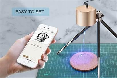 Laser Engraver Kickstarter Hit Smash Portable Laserpecker
