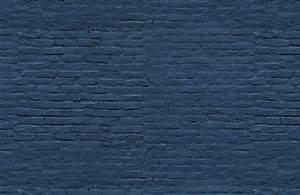 Deep Blue Brick Wall Mural Murals Wallpaper