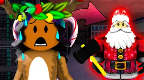 Halloween #roblox #fleethefacility the halloween update 2020 has been released! Captured By Evil Santa Roblox Flee The Facility Christmas ...