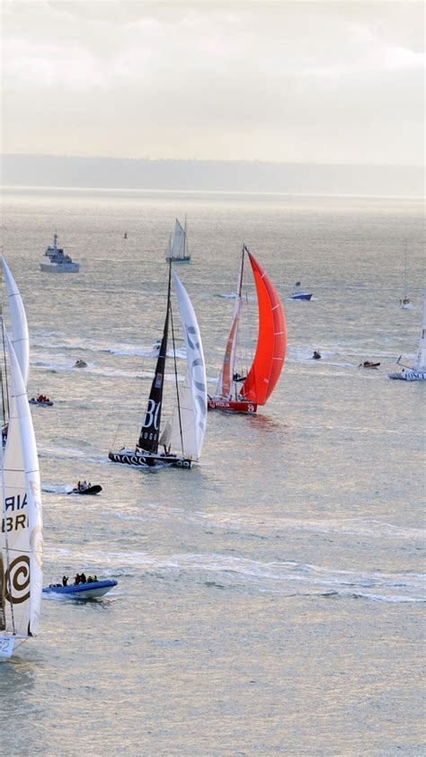 Sailing Boat Competition by Competition Sailing Boats Ride Sail Thrill Boat