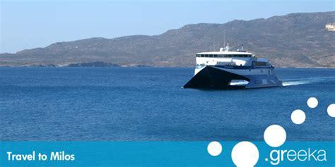 Ways To Travel To Milos Island
