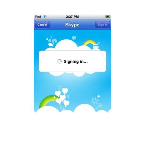 skype app for iphone skype app for the iphone ipod touch