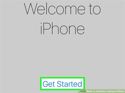 to activate iphone with verizon 2 easy ways to activate a verizon iphone wikihow