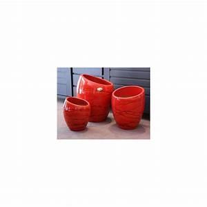 Pot En Terre Cuite émaillée : pot en terre cuite maill e orion soleil couchant ~ Dailycaller-alerts.com Idées de Décoration