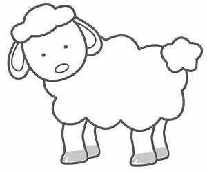Sheep Clip Art Black And White | Clipart Panda - Free ...