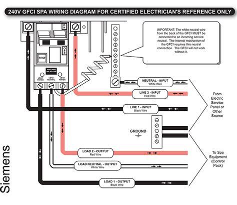 Siemens Hot Tub Gfci Breaker Installation Wiring