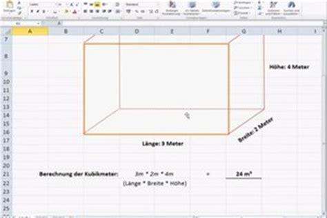 1 kubikmeter wieviel quadratmeter berechnung der kubikmeter so geht s