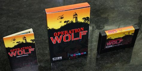 operation wolf  msx toybox releases generation msx