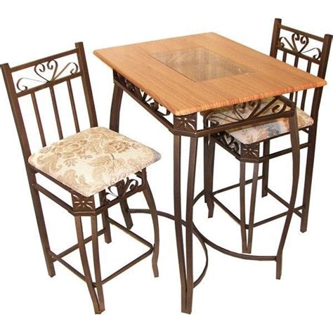 awesome high top dining table sets on cocktail table 3pc