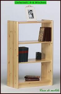 Bücherregal Holz Massiv : massivholz regal kiefer b cherregal holzregal druckerregal holz massiv lackier ebay ~ Markanthonyermac.com Haus und Dekorationen