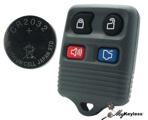 New Gray Ford Lincoln Mercury Keyless Entry Car Remote Key