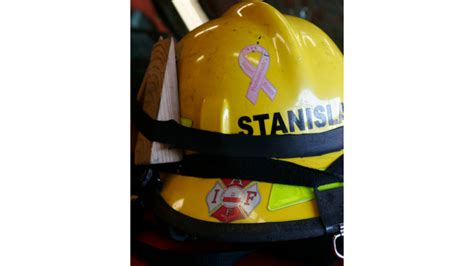 firefighters focus on breast cancer awareness firehouse