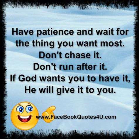 Having Patience Quotes Sayings