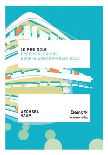 wechselraum bund deutscher architekten bda