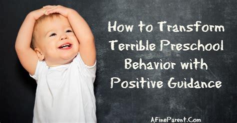 how to transform terrible preschool behavior with positive 305 | How to Transform Terrible Preschool Behavior with Positive Guidance 58452374 featured