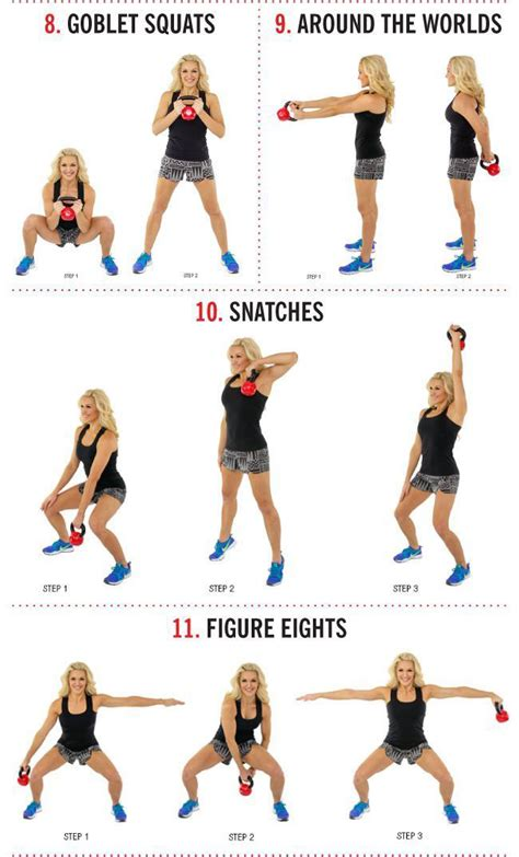 kettlebell exercises workouts training exercice workout beginner beginners routines fitness pdf exercise core arms fat arm calorie blaster shoulder movements