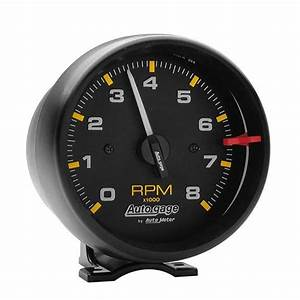 Autometer 2300  3 4 Inch Tach  8 000 Rpm  Black