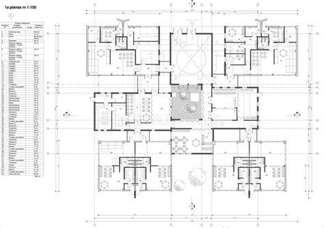 Floor Plan Of The Kindergarten Stock Illustration