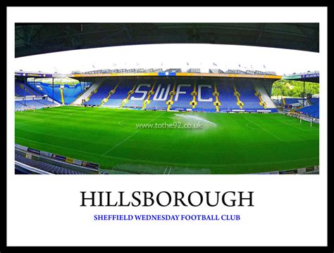 Sheffield Wednesday FC | Hillsborough | Football League ...