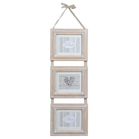 cadre triple en bois    cm estelle maisons du monde