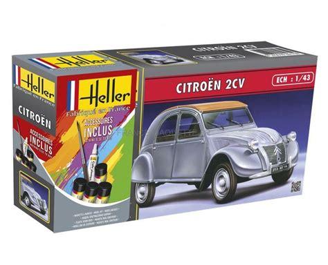 Maquette Cv by Heller 56175 Maquette De La 2cv