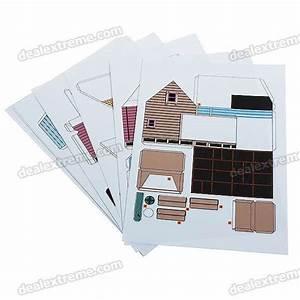 Origami Maison En Papier : maquette en papier 3d origami bricolage maison de l 39 abrc ~ Zukunftsfamilie.com Idées de Décoration
