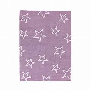 tapis enfant estrellas violet lorena canals 120x160 With tapis chambre bébé avec achat fleur en ligne