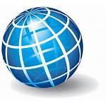 Globe Transparent Shipping Clipart Background Web Omnitec