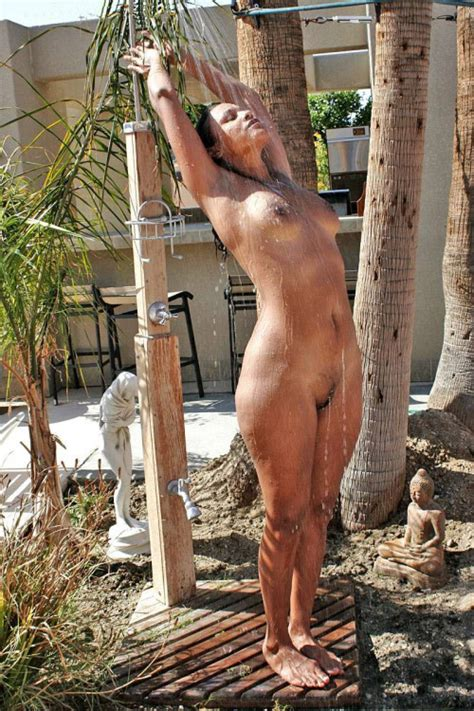 Youre Dirty — Naked Outdoor Showering In Public Part 2