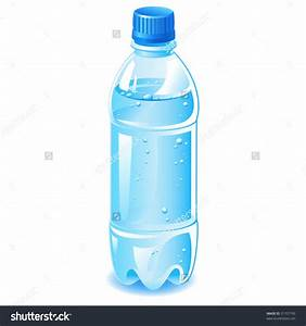 Bottle clipart plastic bottle - Pencil and in color bottle ...