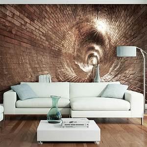 vlies fototapete 3d tunnel tapete tapeten schlafzimmer With markise balkon mit 3d tapete kaufen