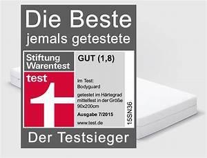 Matratze Stiftung Warentest Gut : matratzen test sieger bei ko test und stiftung warentest ~ Bigdaddyawards.com Haus und Dekorationen