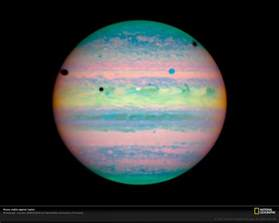 Jupiter Visible Moons