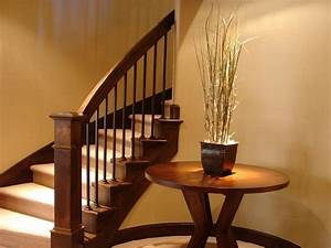 Interior Stair Railings Wood — Railing Stairs And Kitchen