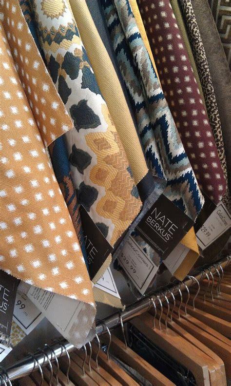 focal point styling nate berkus    fabric