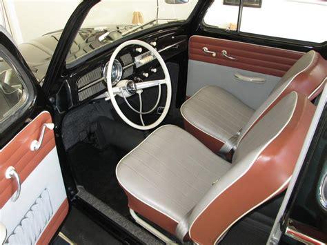 vw bug interior 1960 volkswagen beetle sunroof 180247