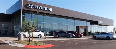 Hyundai Dealers by Rodeo Hyundai West Hyundai Dealer In Az