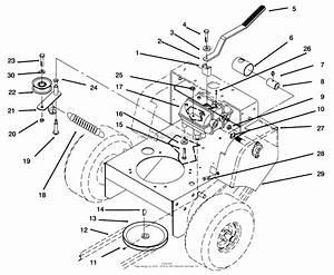 35 Toro Lx500 Drive Belt Diagram