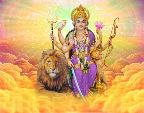 Animated Goddess Durga Wallpapers - jai mata di maa durga beautiful hd wallpapers navratri