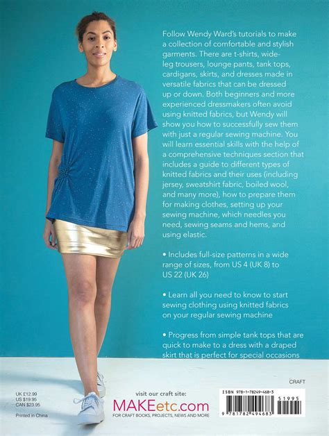 A Beginner's Guide To Sewing With Knitted Fabrics Book