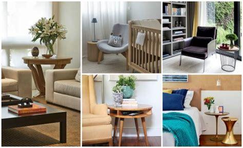 mesa de canto lateral como usar   fotos de ambientes decorados