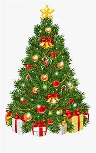 Tree Ornament Transparent Decorated Christmas Day Clipart ...