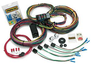 Painles Wiring Harnes 1993 Mustang Chassi by Painless Wiring 10123 12 Circuit Universal Wiring Harness
