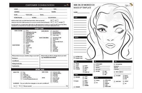 consultation  sheet dedicated  beauty