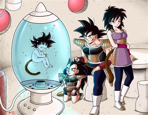 Bardock Gine Raditz And Son Gokuu Dragon Ball And