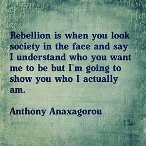 Rebellion - The Daily Quotes