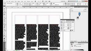 Placing and Formatting Text in Adobe InDesign