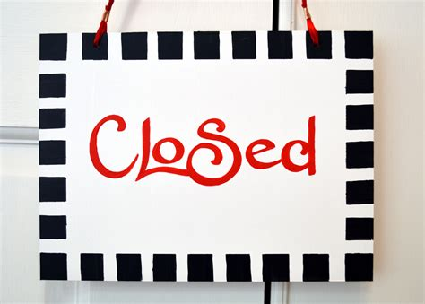 office will be closed sign template closed sign template www pixshark com images galleries