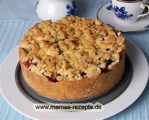Mamas Rezepte : zwetschgenkuchen mit streusel mamas rezepte mit bild und kalorienangaben ~ Pilothousefishingboats.com Haus und Dekorationen